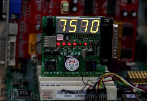 Диагностика компьютера в Одессе с помощью оборудования POST-card